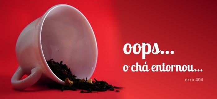 404 - página indisponível